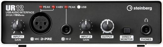 Audio Interface Steinberg UR12 inkl. Software