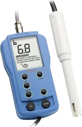 Hanna Instruments HI 9812-5 Kombi-Messgerät Gelöste Teilchen (TDS), Leitfähigkeit, pH-Wert, Temperatur Kalibriert nach