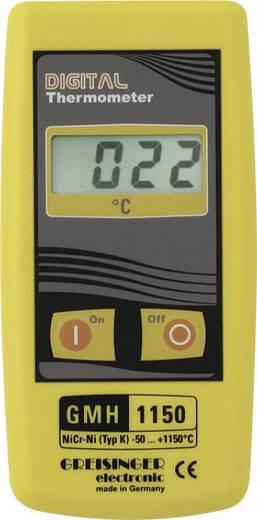 Temperatur-Messgerät Greisinger GMH 1150 -50 bis +1150 °C Fühler-Typ K Kalibriert nach: Werksstandard (ohne Zertifikat)