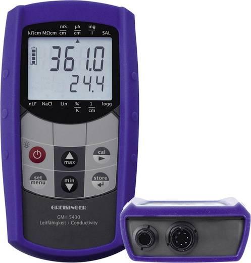 Greisinger GMH 5430 Kombi-Messgerät Leitfähigkeit, Salinität, Gelöste Teilchen (TDS), Temperatur Kalibriert nach Werkss