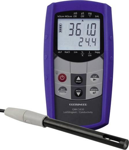 Kombi-Messgerät Greisinger GMH 5430-400 Leitfähigkeit, Salinität, Gelöste Teilchen (TDS), Temperatur Kalibriert nach We