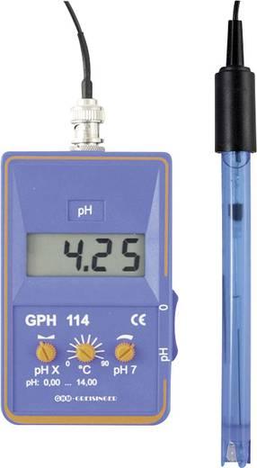 Greisinger GPH114 pH-Messgerät Kalibriert nach ISO
