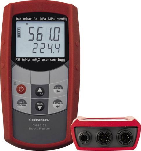 Druck-Messgerät Greisinger GMH5155 Luftdruck 0 - 1000 bar Kalibriert nach DAkkS