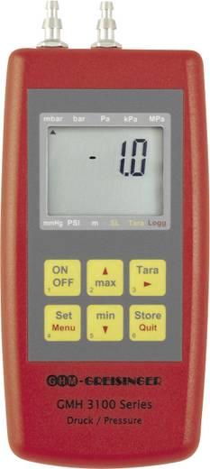 Greisinger GMH3181-002 Druck-Messgerät Luftdruck, Nicht aggressive Gase, Korrosive Gase -5 - 5 bar Kalibriert nach DAkk