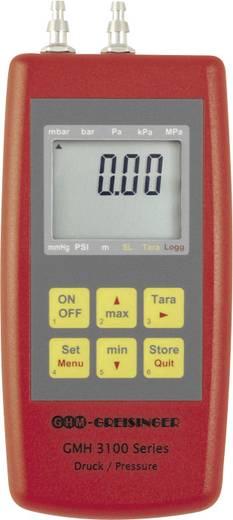Greisinger GMH3181-07H Druck-Messgerät Luftdruck, Nicht aggressive Gase, Korrosive Gase -0.001 - 0.07 bar Kalibriert na