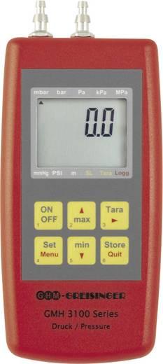 Greisinger GMH3161-07B Druck-Messgerät Luftdruck, Nicht aggressive Gase, Korrosive Gase -0.01 - 0.42 bar Kalibriert nac