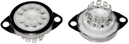 Röhrenfassung 1 St. 130539 Polzahl: 10 Sockel: Dekal Montageart: Chassis Material:Keramik