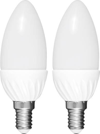 LED E14 Kerzenform 3 W = 25 W Warmweiß (Ø x L) 38 mm x 108 mm EEK: A+ Müller Licht 2 St.