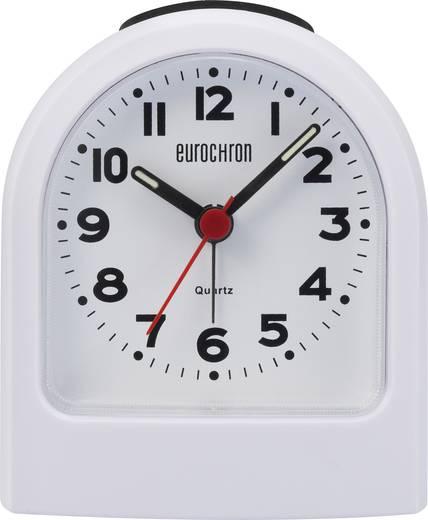 Quarz Wecker Eurochron EQW 7700 Weiß Alarmzeiten 1