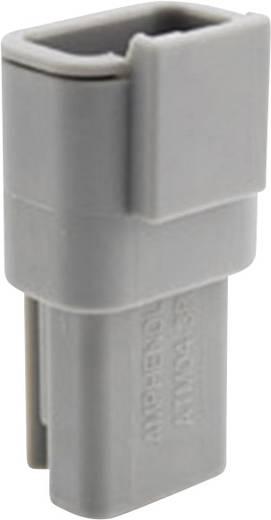 Gehäuse für Stiftkontakte Pole: 3 7.5 A ATM04 3P Amphenol 1 St.