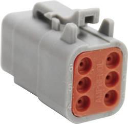Connecteur automobile mâle Amphenol ATM06 6S Pôle: 6 7.5 A 1 pc(s)