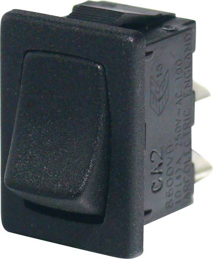Wippschalter 250 V 16 A 1 x Ein/Aus Arcolectric H8600VBAAA rastend 1 St.