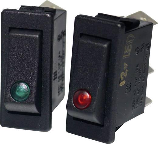 Wippschalter 250 V/AC 16 A Arcolectric C5503PLLAA rastend 1 St.