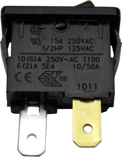 Wippschalter 250 V/AC 15 A 1 x Aus/Ein Arcolectric H8800VAAAB rastend 1 St.