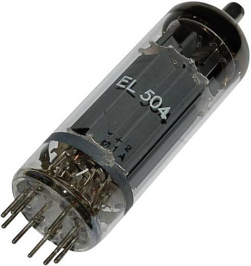 Elektronenröhre EL 504 = 6 GB 5 A Endpentode 75 V 440 mA Polzahl: 9 Sockel: Magnoval Inhalt 1 St.