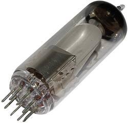 Elektronka EM 80 = 6 BR 5 typ patice Noval Popis: Ukazatel naladění