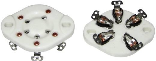 Röhrenfassung 1 St. 130579 Polzahl: 5 Sockel: UX-5 Montageart: Chassis Material:Keramik