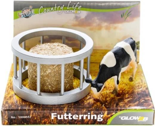 Futterring mit Ballen und Kuh