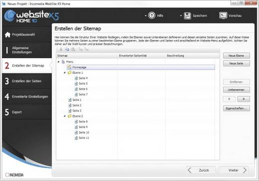 Incomedia WebSite X5 Home 10