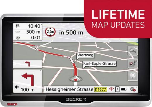 Becker Transit. 6 LMU LKW-Navi 15.8 cm 6.2 Zoll Europa