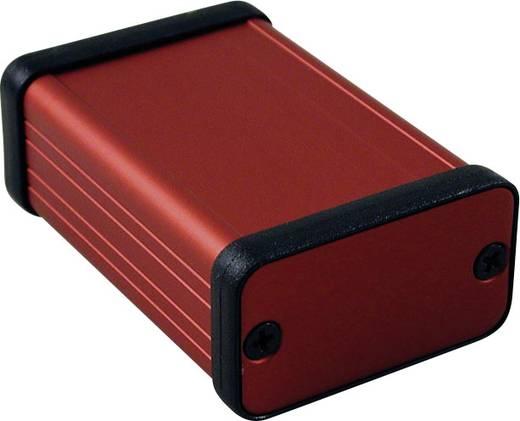Profil-Gehäuse 60 x 45 x 25 Aluminium Rot Hammond Electronics 1455D601RD 1 St.