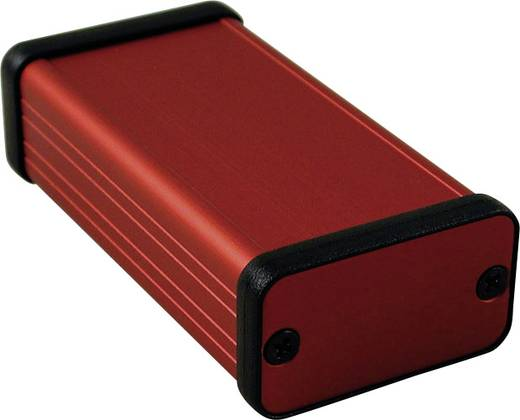 Profil-Gehäuse 80 x 45 x 25 Aluminium Rot Hammond Electronics 1455D801RD 1 St.