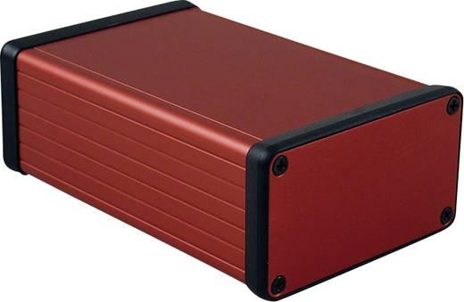 Profil-Gehäuse 120 x 78 x 43 Aluminium Rot Hammond Electronics 1455K1201RD 1 St.