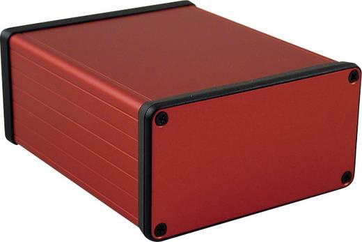 Profil-Gehäuse 120 x 103 x 53 Aluminium Rot Hammond Electronics 1455N1201RD 1 St.