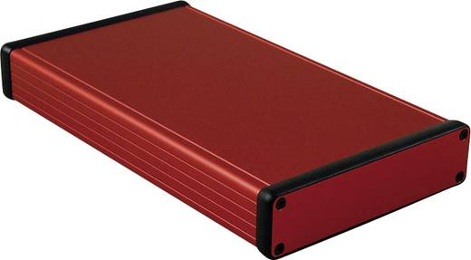 Profil-Gehäuse 220 x 125 x 30.5 Aluminium Rot Hammond Electronics 1455P2201RD 1 St.