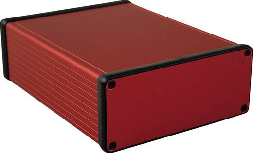 Hammond Electronics 1455Q1601RD Profil-Gehäuse 160 x 125 x 51.5 Aluminium Rot 1 St.
