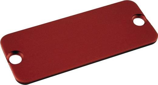 Endplatte (L x B) 54 mm x 23 mm Aluminium Rot Hammond Electronics 1455CALRD-10 10 St.