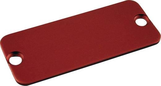 Endplatte (L x B) 120.5 mm x 51.5 mm Aluminium Rot Hammond Electronics 1455QALRD-10 10 St.