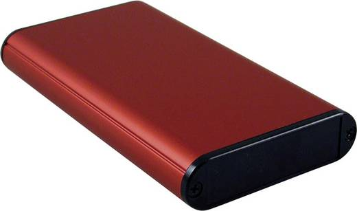 Hammond Electronics 1455B1202RD Profil-Gehäuse 120 x 71.7 x 19 Aluminium Rot 1 St.