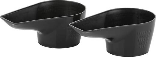 Tisch Kontakt-Grill Tristar GR-2840 mit manueller Temperatureinstellung Edelstahl, Schwarz