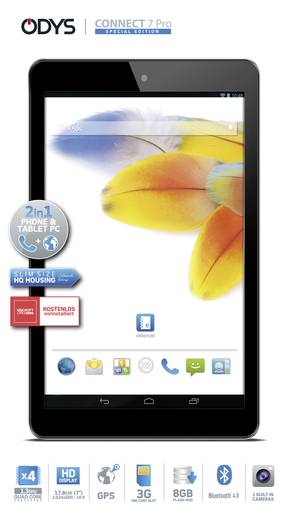 odys connect 7 pro android tablet 17 8 cm 7 zoll 8 gb wi. Black Bedroom Furniture Sets. Home Design Ideas