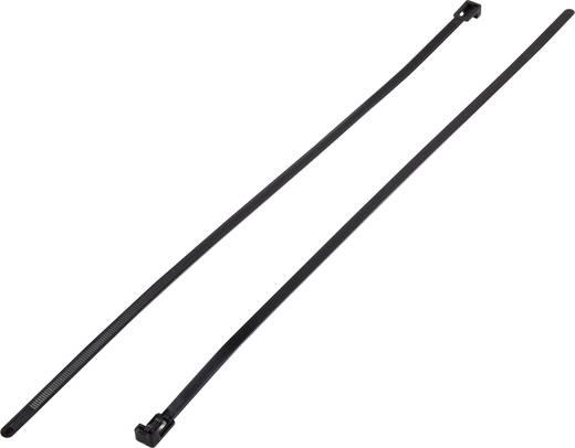 Kabelbinder-Sortiment 500 mm Schwarz Lösbar KSS 1307021 HV-500BK 100 St.