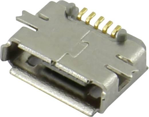 Micro USB Einbaubuchse Buchse, Einbau horizontal 207A-ABA0-R Micro USB Einbaubuchse TYP AB Attend Inhalt: 1 St.
