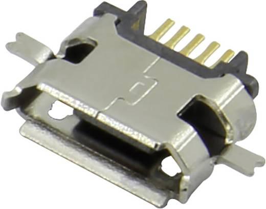 Micro USB Einbaubuchse Buchse, Einbau horizontal 207E-BG00-R Micro USB Einbaubuchse TYP B Attend Inhalt: 1 St.