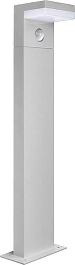 Lampadaire LED extérieur avec détecteur de mouvements GEV 11 W gris 60 cm