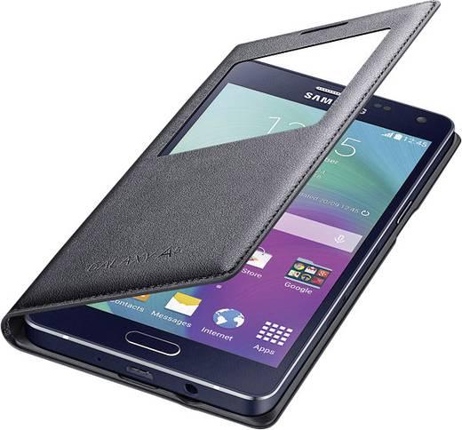 Samsung S View Cover EF-CA500 Booklet Passend für: Samsung Galaxy A5 Schwarz
