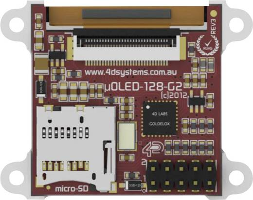 Entwicklungsboard 4D Systems uOLED-128-G2