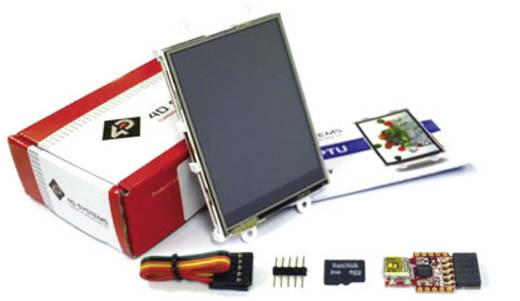 Entwicklungsboard 4D Systems SK-28PTU