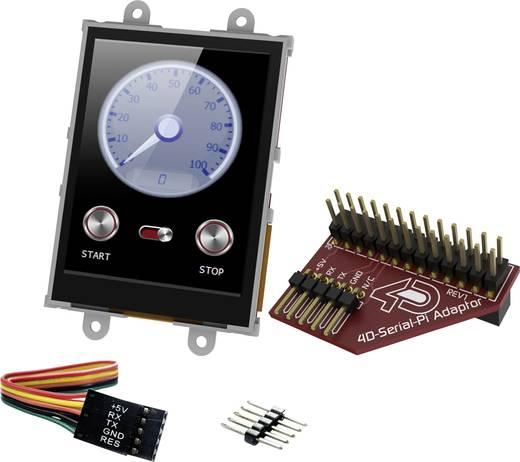 Entwicklungsboard 4D Systems uLCD-28PTU-Pi