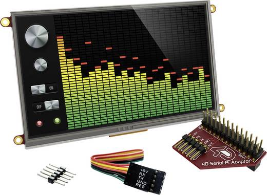 Entwicklungsboard 4D Systems uLCD-70DT-Pi