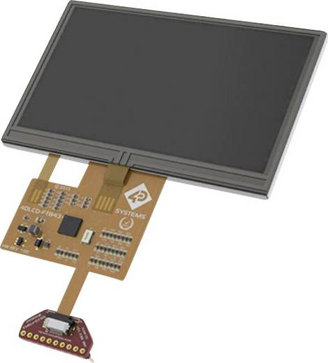 Entwicklungsboard 4D Systems SK-FT843-B