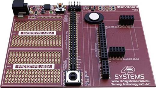 Prototyping-Board 4D Systems 4Devboard