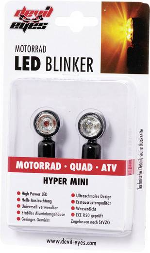 LED-Blinker Quad, ATV Devil Eyes 611000 Aluminium