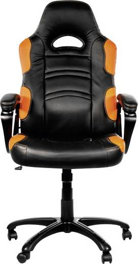 Gaming-Stuhl Arozzi Enzo Gaming Chair Schwarz/Orange Schwarz/Orange