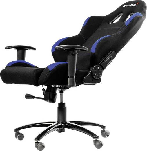 Gaming Stuhl AKRACING Gaming Chair Schwarz Blau Schwarz