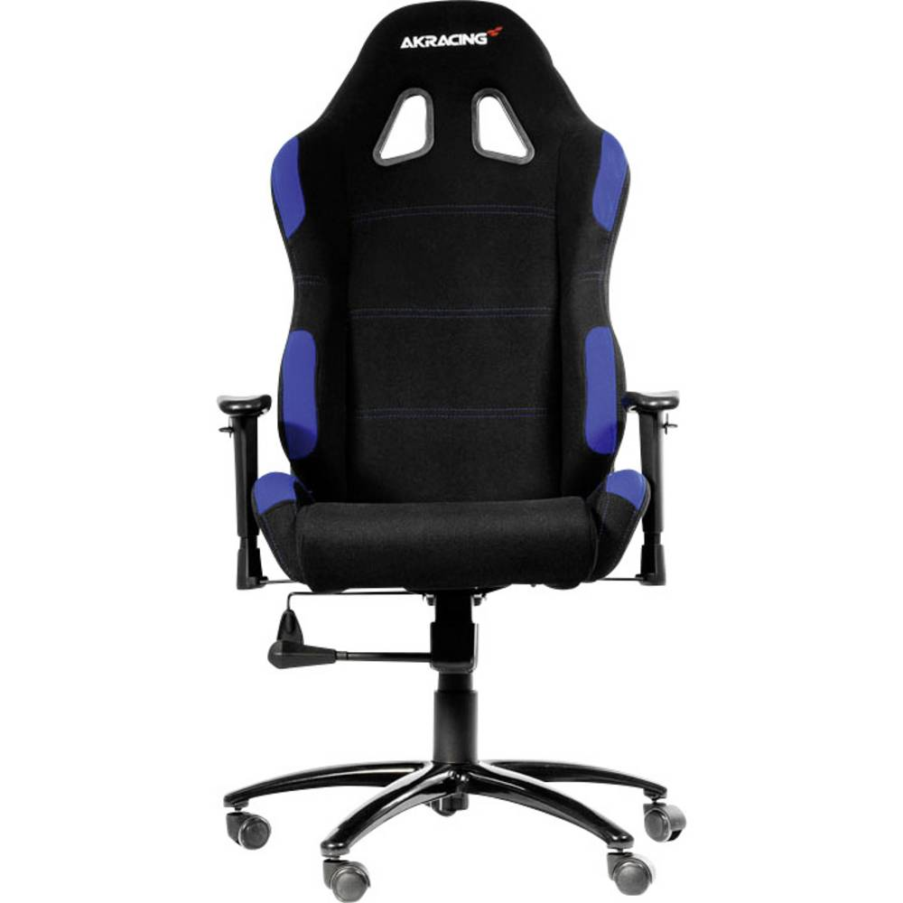 gaming stuhl akracing gaming chair schwarz blau schwarz blau im conrad online shop ak k7012 bl. Black Bedroom Furniture Sets. Home Design Ideas